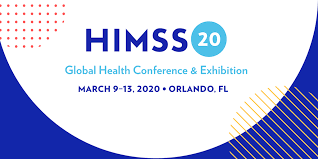 HIMSS 2020 conference logo